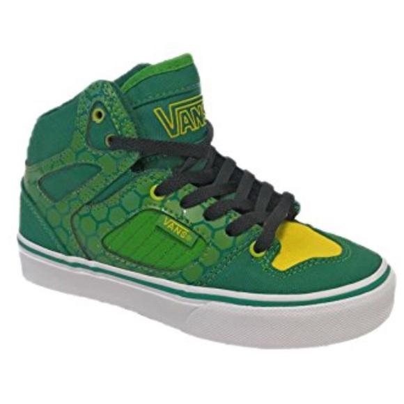 1db1922af0 VANS Kids Youth Shoes Allred Turtle Green 11.5